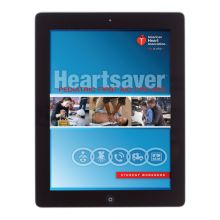 Heartsaver® Pediatric First Aid CPR AED Student Workbook eBook