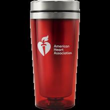 AHA Red Travel Mug