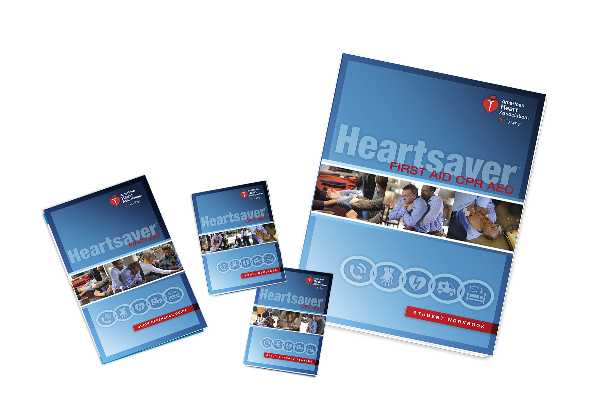 Heartsaver® First Aid CPR AED with  Student Workbook