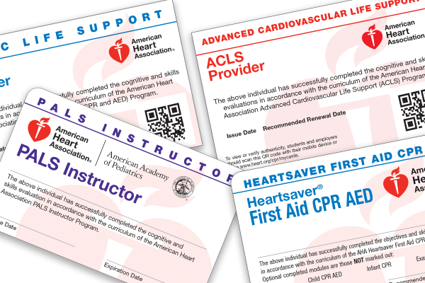 Course Completion Cards